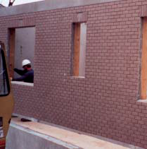 Whether dealing with wild fires in San Bernadino County, California, or tornadoes in Hallam, Nebraska, using precast insulated concrete walls with extruded polystyrene (XPS) or polyiso insulation can provide some protection. Photo courtesy Federal Emergency Management Agency. Photo Bob McMillan