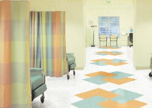Studies suggest the use of easy-to-clean surfaces like vinyl flooring in healthcare settings is a sensible approach to controlling pathogens. Sheet vinyl floors help maintain stringent hygienic conditions, receiving high ratings where infection control is an issue.