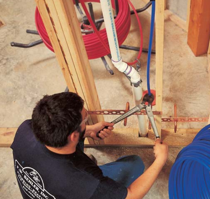 Flexing Your Pex Plumbing The Possibilities Of Cross