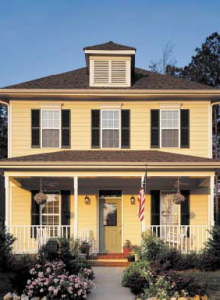 Vinyl siding requires little maintenance, remaining attractive for years.