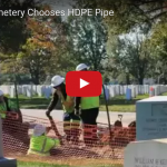 Trenchless HDPE Pipe Laid in Arlington Cemetary