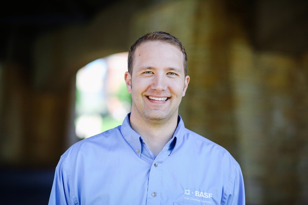 Brian Oman, Application Specialist, Sr., BASF