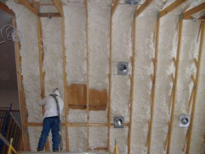 spray foam insulation helping deliver net zero efficiency