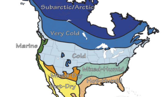 energy efficient wall north american climates